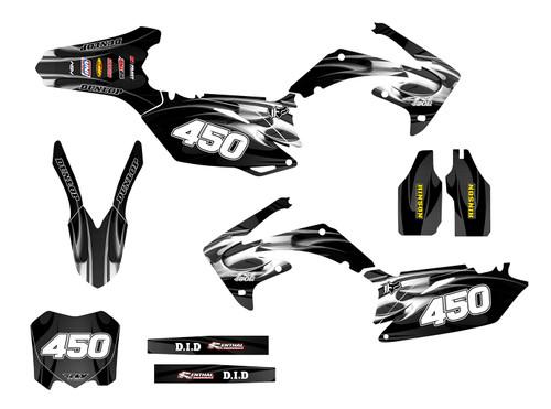 CRF250R-2010-13 & CRF450R 2009-12 Design 2615
