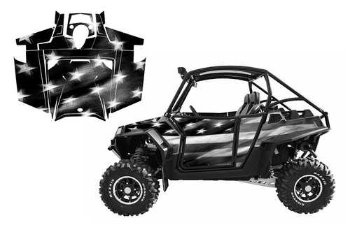 RZR 900XP 2011-14 Tattered American Flag