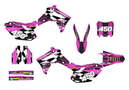 CRF250R-2014-17 & CRF450R 2013-16 Design 3500