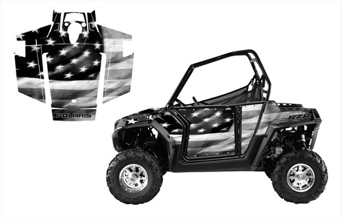 RZR 800 800S 2007-2010 Tattered American Flag