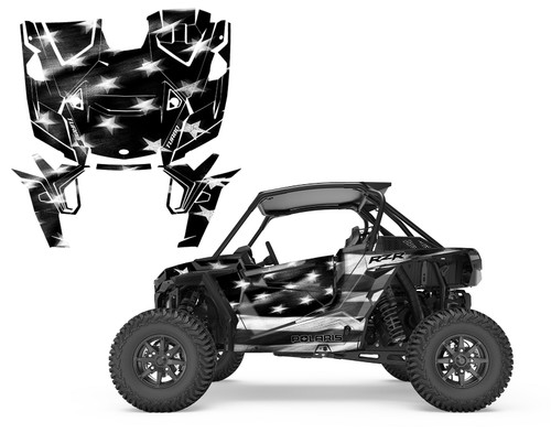 2019 RZR-1000 Turbo S XP Tattered American Flag