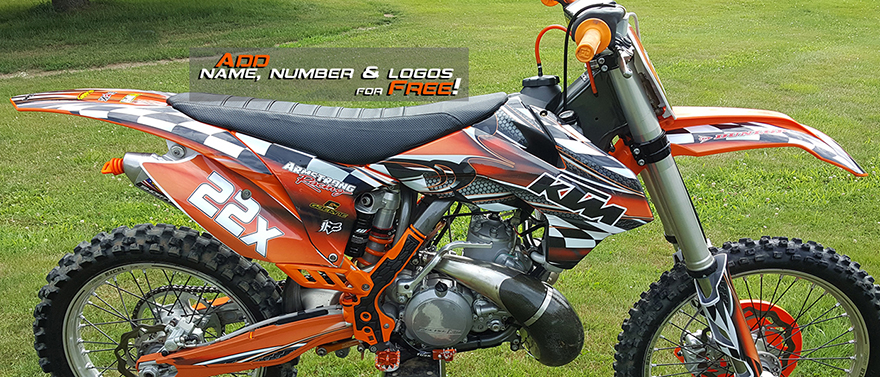 KTM SXF by All Motor Graphics