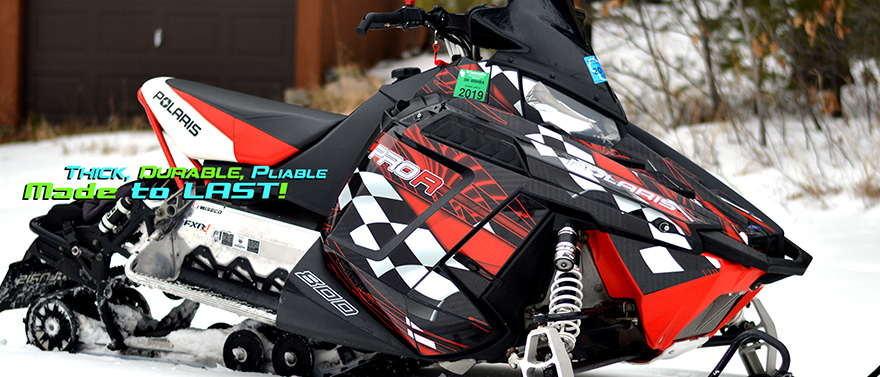 Skidoo wrap by Allmotorgraphics