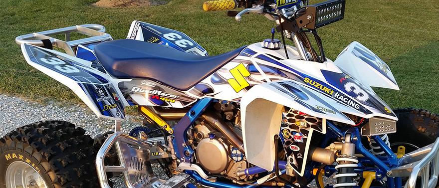 Suzuki LTR450 by Allmotorgraphics