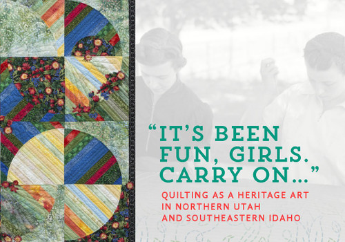 These were among the last words Cache Valley quilter Millie Olmstead spoke to her nieces before passing away in the late summer of 2012 at the age of eighty-nine. Like many quilters, Millie left a collection of work and memories that live on in the homes and hearts of family members and friends. Millie's quilting life is also preserved in newspaper clippings, interviews, quilt guild meeting minutes, and in the American Heritage Quilt Collection she helped found. These records reflect not only Millie's talent as a quilter, but also offer a glimpse into the culture in which she quilted.
