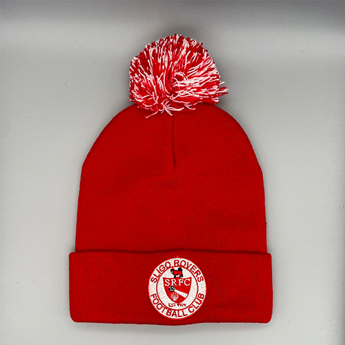 Red Bobble Hat