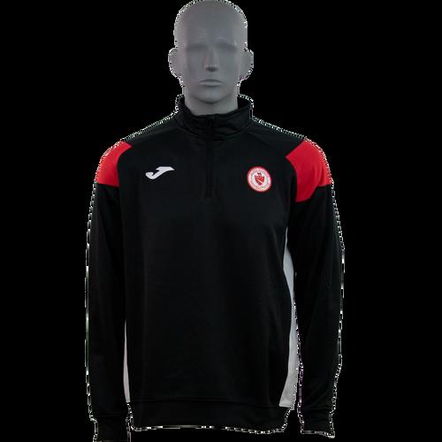Sligo Rovers Sweatshirt Crew Black-Red Kids