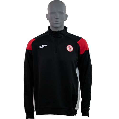 Sligo Rovers Sweatshirt Crew Black-Red Kids