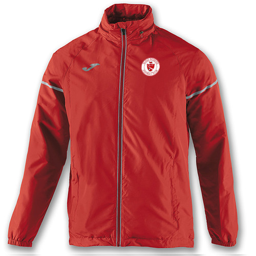 Adult Rainjacket Race Red