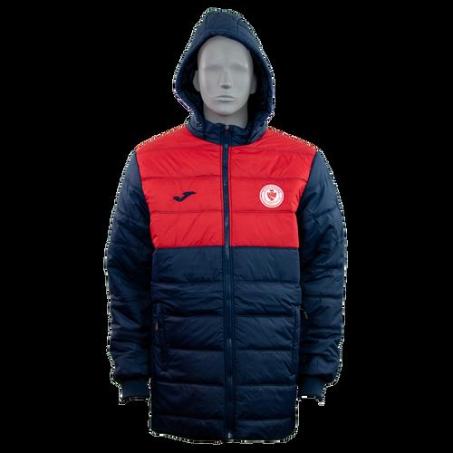 Sligo Rovers Winter Jacket nav-red