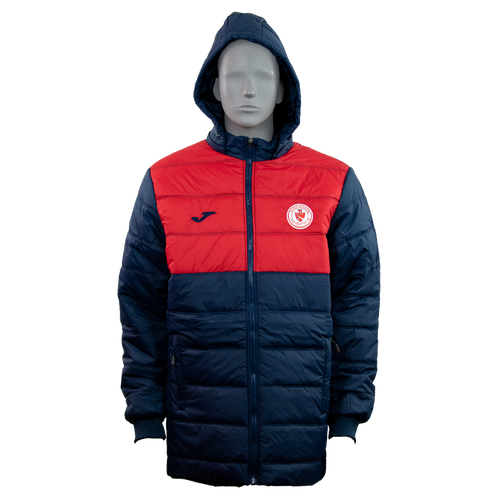 Kids Sligo Rovers Winter Jacket nav-red