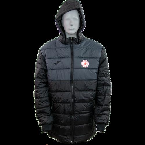 Kids Sligo Rovers Winter Jacket Black-Anthracite