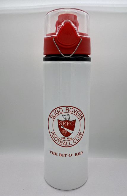 Customised Sligo Rovers water bottle