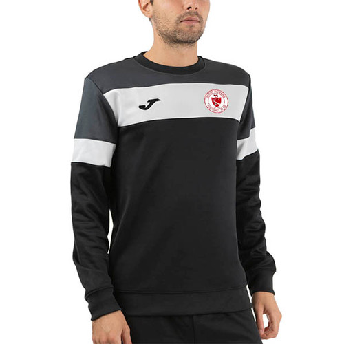 Sligo Rovers Sweatshirt Crew IV Black-Anthracite Kids