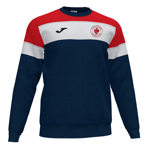 Sligo Rovers Sweatshirt Crew IV Navy Red Kids