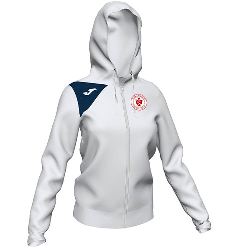 Sligo Rovers Hooded Jacket White Womens