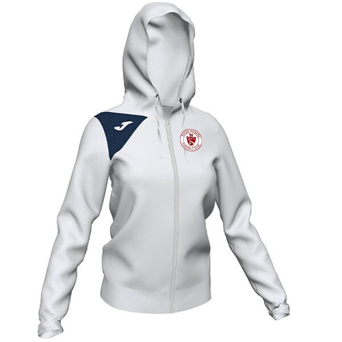 Sligo Rovers Hooded Jacket White Womens Kids