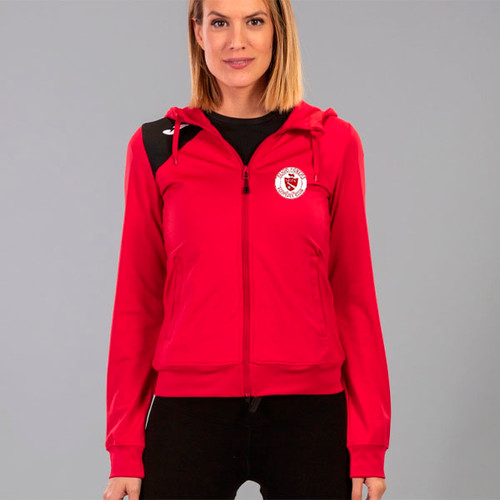 Sligo Rovers Hooded Jacket Red Womens Kids