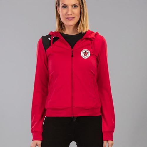 Sligo Rovers Hooded Jacket Red Ladies