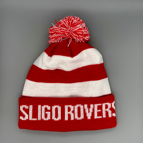 Red/White Bobble Hat