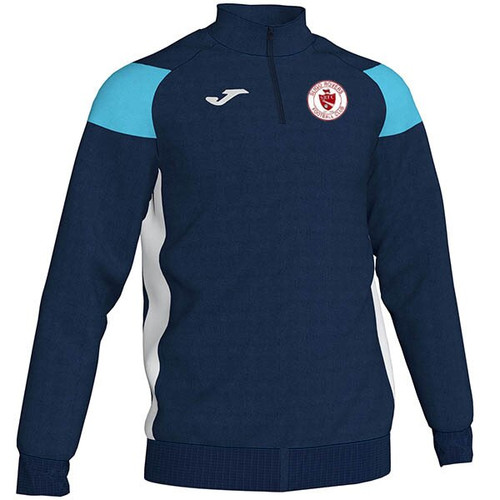 Sligo Rovers Sweatshirt Crew iii Navy-SkyBlue Adults