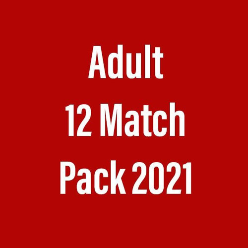 Season Ticket 2021 (12 match package) Adult