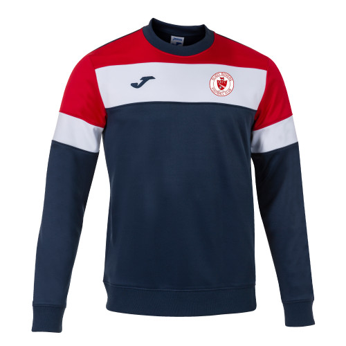 Sligo Rovers Sweatshirt Crew IV Navy/Red