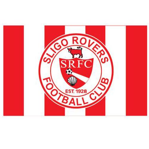 Sligo Rovers Flag 5ft x 3ft (bar design)