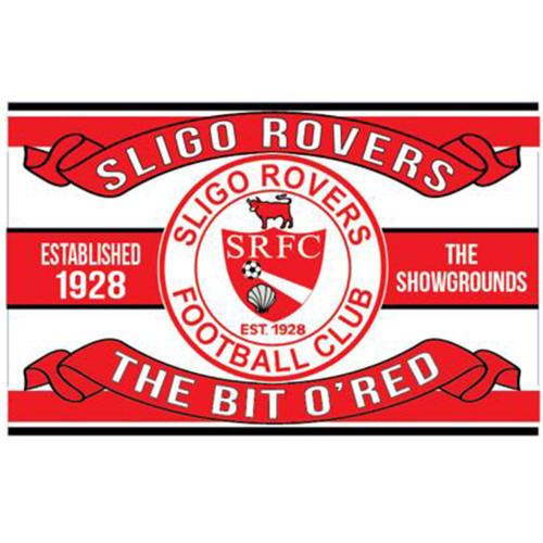 Sligo Rovers Flag 5ft x 3ft