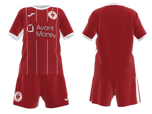 Sligo Rovers Infant Home kit (Jersey + Shorts)