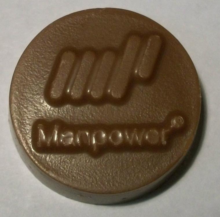 Manpower Milk Chocolate Mint