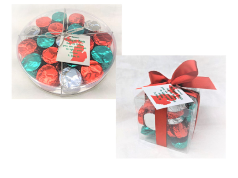 Mint Holiday Gift Containers- Michigan Mints