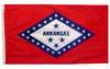Arkansas - State Flag (finished with heading and grommets)