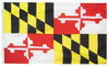 Maryland - State Flag (finished with heading and grommets)