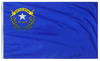 Nevada - State Flag (finished with heading and grommets)