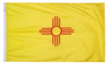 New Mexico - State Flag (finished with heading and grommets)