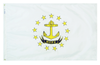Rhode Island - State Flag (finished with heading and grommets)