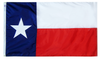 Texas - State Flag (finished with heading and grommets)