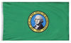 Washington - State Flag (finished with heading and grommets)