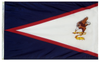 American Samoa - Territory Flag (finished with heading and grommets)