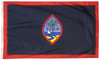 Guam - Territory Flag (finished with heading and grommets)