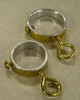 Ring Set for Indoor Flagpoles - Gold