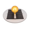 Solar Light Top (showing solar panel and ball)
