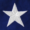 Embroidered Cotton Star