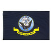 Navy Flag (Heading and Grommet Style)