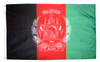 Afghanistan - Outdoor Flag with heading & grommets