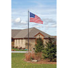Budget Flagpole in Bronze
