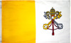 Papal Flag - For Outdoor Use