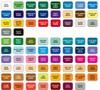 Color Chart for Attention Flags