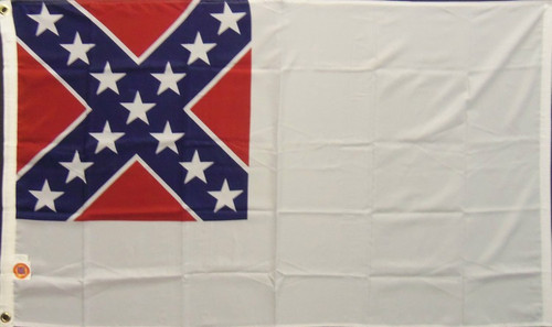 2nd National Confederate Flag - 3' x 5'